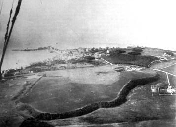 fig.1 Anzio nel 1912 foto dal dirigibile