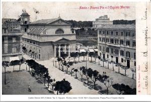Piazza Pia ANZIO 1901