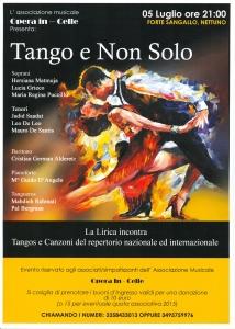 Locandina di Tango e non solo